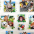 "Zoo Selfies - Paneled - 44"" Wide - 100% Cotton"