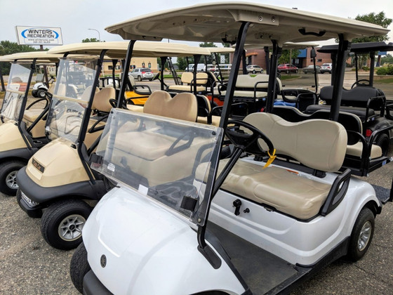 What is the difference in golf cart windshields?