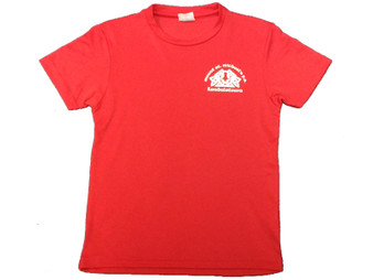 Mount St Michael Red PE Shirt (With option for Initials)