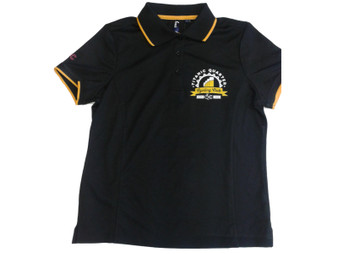 Titanic Quarter Cycling Club Men's Black Polo