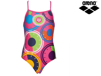 Arena Gear Girls Swimsuit (Fresia Rose)