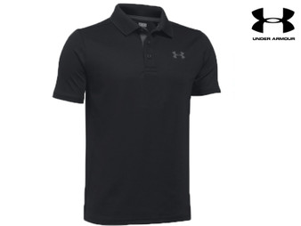 Under Armour Performance Polo Boys (Black)