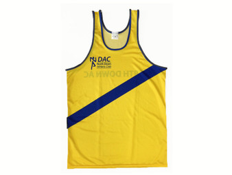 North Down AC Running Vest Mens