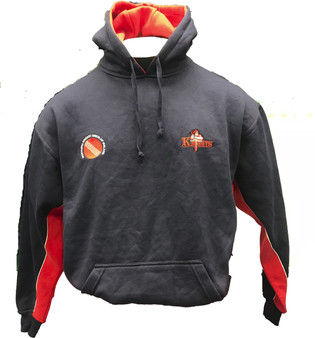 Northern Knights Junior Hoody Navy/Red
