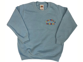 Stranmillis Nursery School Blue Sweatshirt