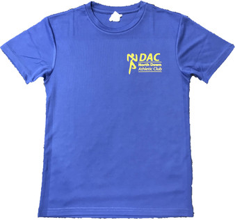 North Down AC Kids Tee (Royal Blue)