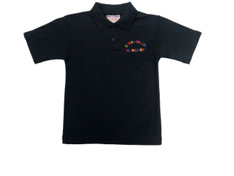 Stranmillis Nursery School Navy Polo Shirt