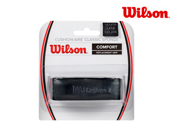 Wilson Cushion Aire Classic Sponge Replacement Grip (Black)