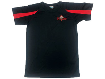 Northern Knights Adult Training T-Shirt Navy/Red