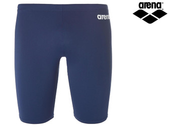 Arena Solid Boys Jammer (Navy/White)