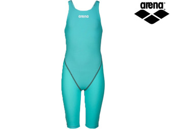 Arena Powerskin ST 2.0 Full Body Short Leg Ladies Racing Swimsuit (Aqua)