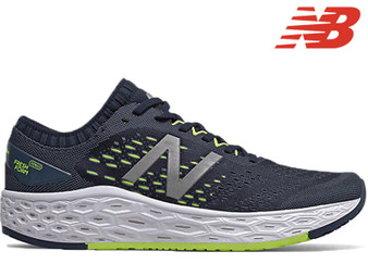 New Balance Vongo v4 Mens Running Shoe (Natural/Lemon Slush)