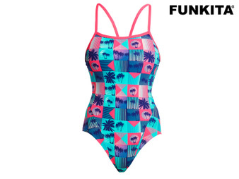 Funkita Club Tropicana Single Strap Girls Swimsuit