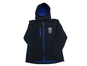 Belfast Harlequins LHC Ladies Hooded Soft Shell  Jacket