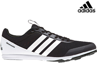 Adidas Distancestar Running Spikes (Black/White)