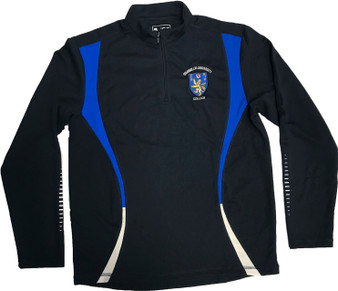 Stranmillis College Unisex Half Zip Training Top