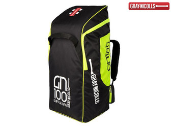 Gray Nicolls 100 Duffle Bag (Black/Fluor)
