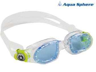 Aquasphere Moby Swimming Goggle Junior Clear/Blue/Lime