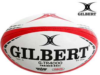 Gilbert G-TR4000 Rugby Ball Size 4 (Red)