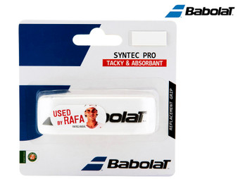 Babolat Syntec Pro Replacement Grip (White)
