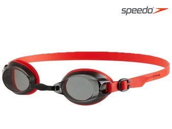 Speedo Jet Swimmimg Goggle Adult Black/Red