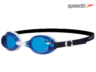 Speedo Jet Swimmimg Goggle Adult White/Blue