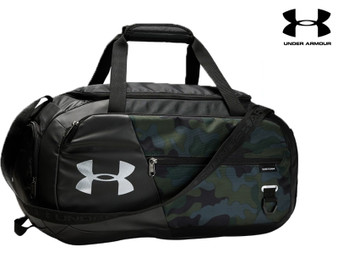 Under Armour Undeniable 4.0 Small Duffel (Black Camo 290)