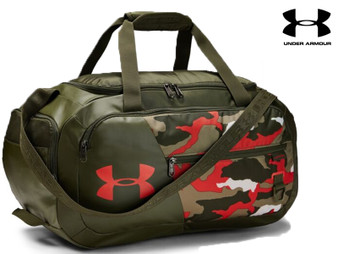 Under Armour Undeniable 4.0 Small Duffel (Green Camo 110)