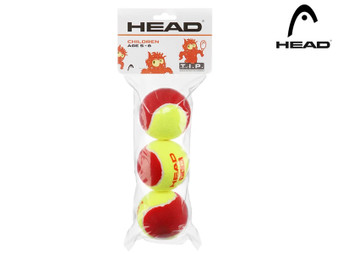 Head T.I.P Starter Red Tennis Ball (3 Pack)