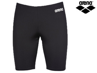 Arena Solid Mens Jammer (Black/White)