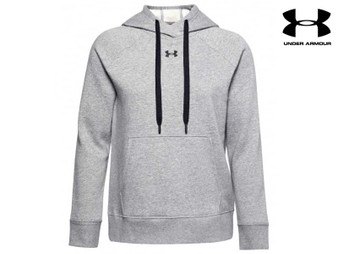 Under Armour Ladies  Fleece Hoody (Grey 035)