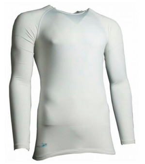 Precision Long Sleeve Baselayer Adult (White)