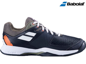 Babolat Pulsion Clay/Omni Court Mens Tennis Shoe (Black/Burnt Olive)