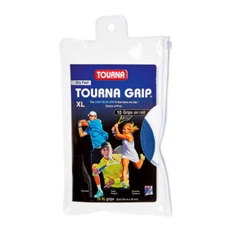 Tourna Grip XL 10 Pack Blue