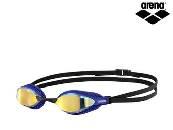 Arena Airspeed Mirrored Goggles Copper/Blue