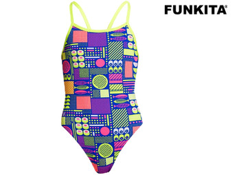 Funkita Packed Lunch Single Strap Ladies Swimsuit