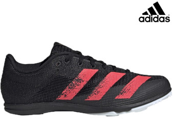 Adidas Allroundstar Junior Running Spikes (Black/Red)