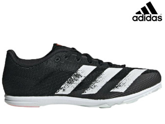 Adidas Allroundstar Junior Running Spikes (Black/White)