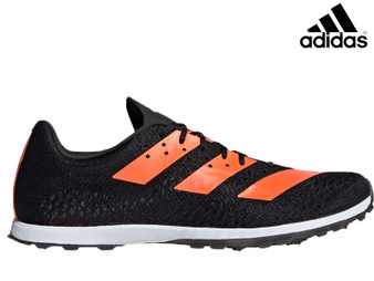 Adidas Adizero XC Sprint Running Spikes (Black/Orange)