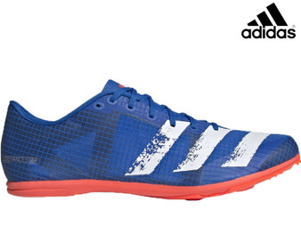 Adidas Distancestar Mens Running Spikes (Blue)