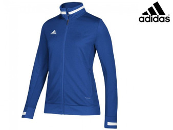 Adidas T19 Ladies Track Jacket (Royal Blue/White)