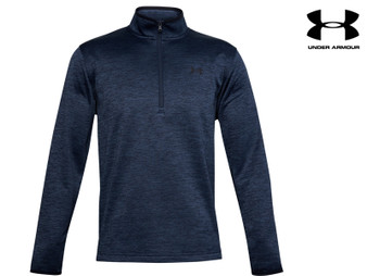 Under Armour Armour Fleece Mens 1/2 Zip (Navy)