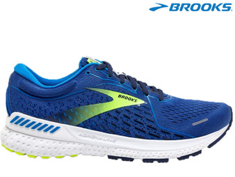 Brooks Adrenaline GTS 21 Mens Running Shoe (Blue/Indigo/Nightlife)