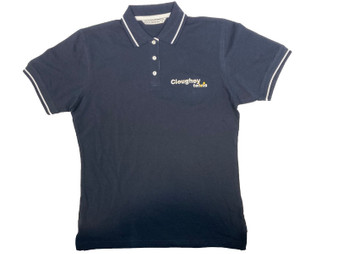 Cloughey Tennis Club Ladies Polo Shirt