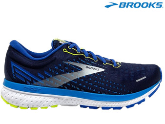 Brooks Ghost 13 Mens Running Shoes (Peacot/Indigo/Nightlife)