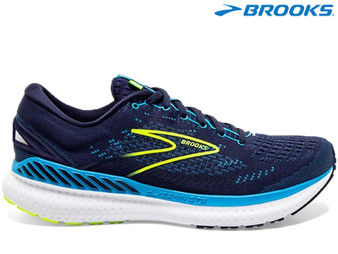 Brooks Glycerin GTS 19 Mens Running Shoe (Navy/Blue/Nightlife)