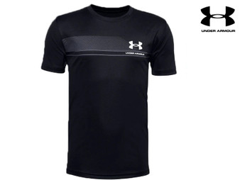 Under armour Lock Up Tech Boys SS Tee (Black)