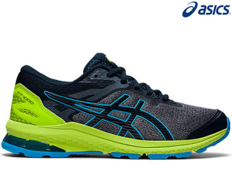 Asics Gel GT 1000 10 GS Kids Running Shoe (French Blue/Digital Aqua)