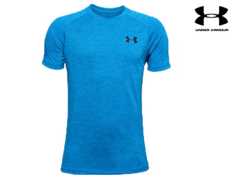 Under Armour Tech 2.0 Boys SS Tee (Electric Blue 428)