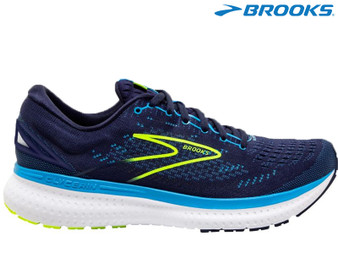 Brooks Glycerin 19 Mens Running Shoe (Navy/Blue/Nightlife)